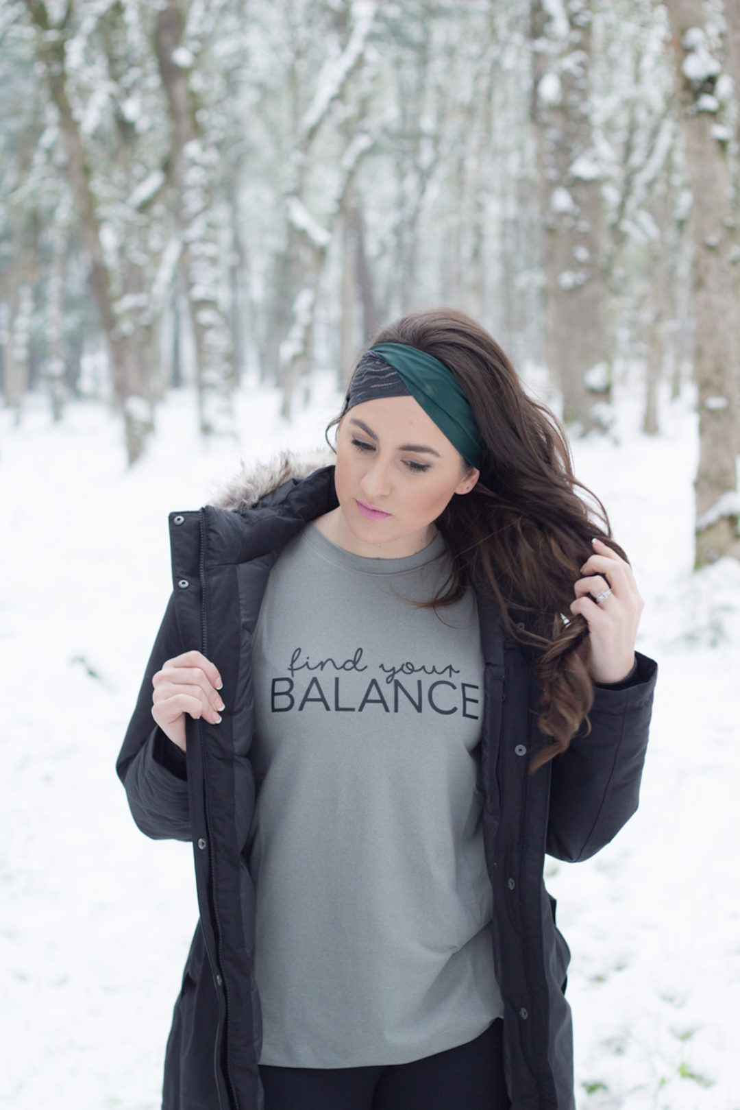 Walking is the best exercise, especially in these amazing workout headbands and tank.