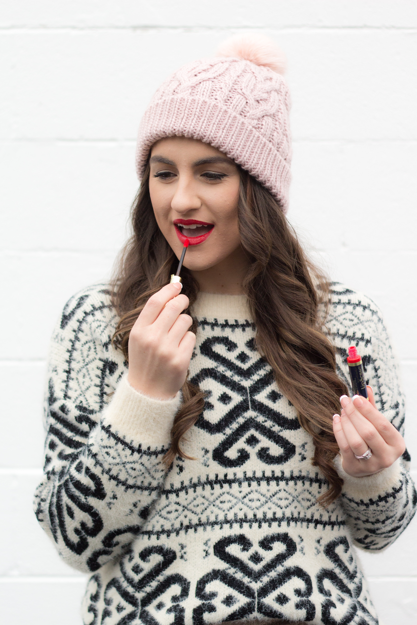 The BEST lipstick around | Lip Sense by Portland style blogger Topknots and Pearls