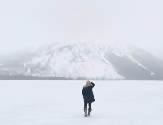 As we vacationed in Whitefish Montana, we went to Glacier National Park and were in awe every place we looked. It's a Winter snow globe masterpiece.