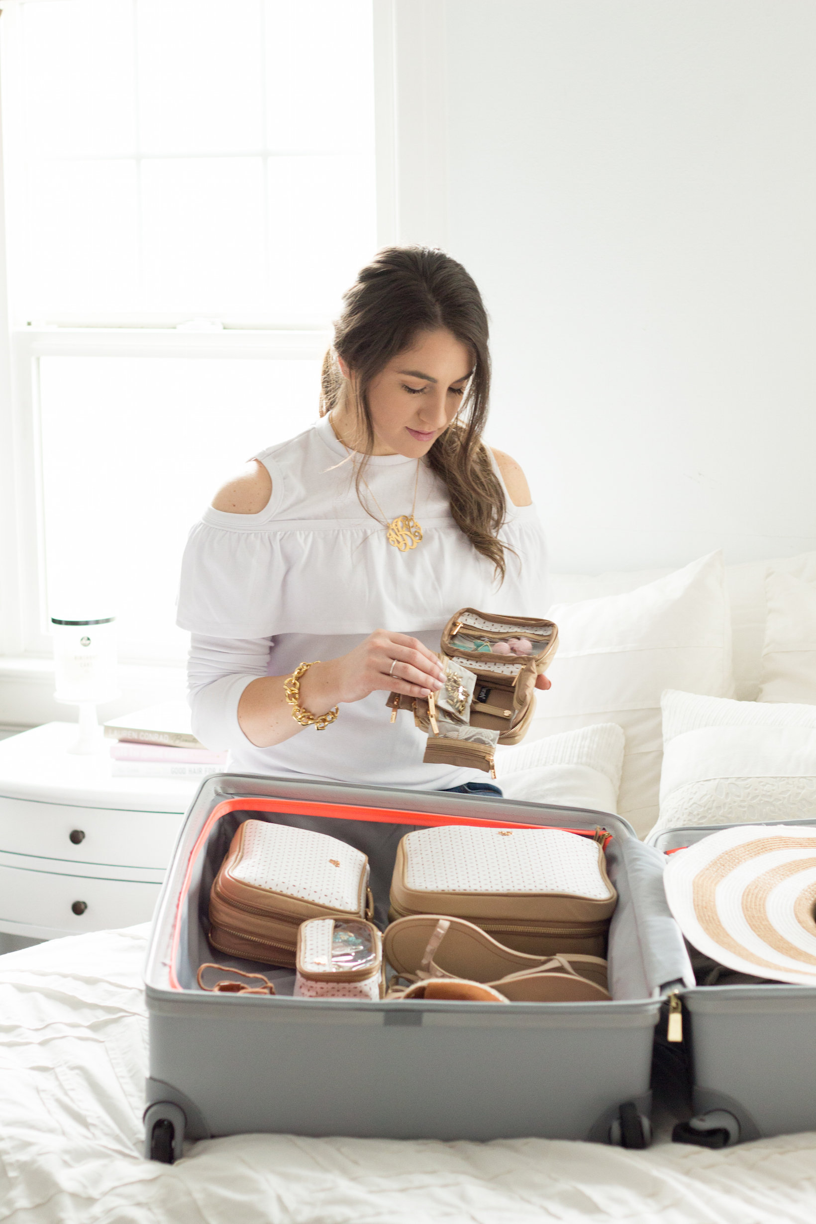 Packing Checklist for Spring Break by popular Portland blogger Topknots and Pearls