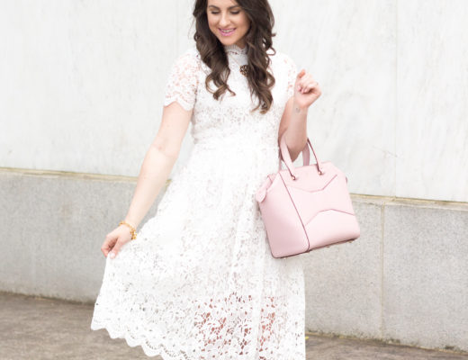 Floral lace dresses are perfect for the spring and summer. Read how to pick the right fit for you!