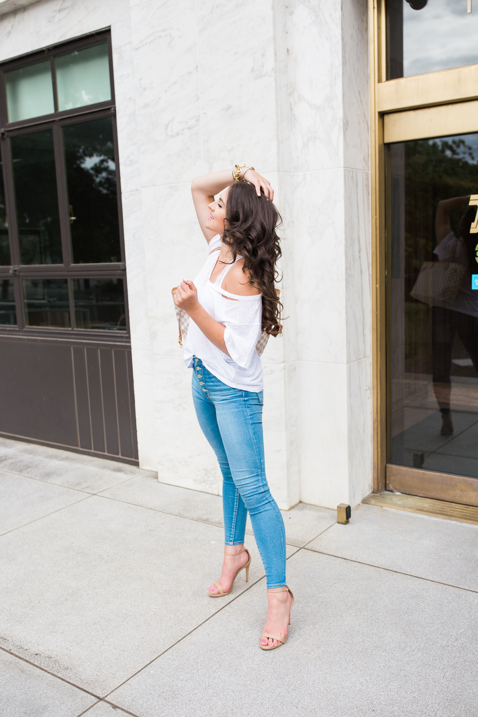 847ff4a6c3 Looking to style a bralette  Portland Style Blogger Topknots and