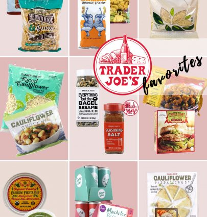 Bookmark this ASAP, Portland Style Blogger Topknots and Pearls is sharing her favorite items from Trader Joes!